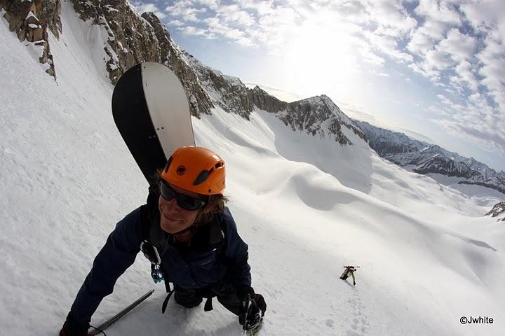 Jarrett Luttrell snowboarding Capitol