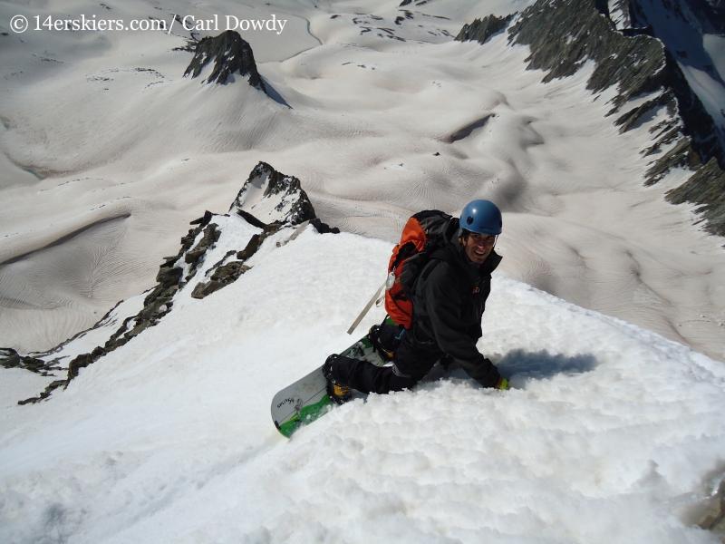 Marc Barella snowboarding Capitol