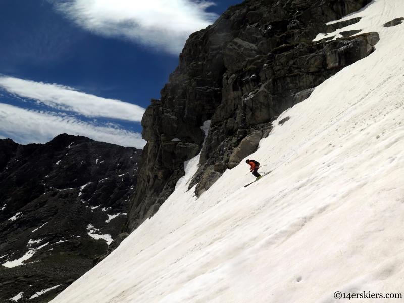 front range skiing in summer