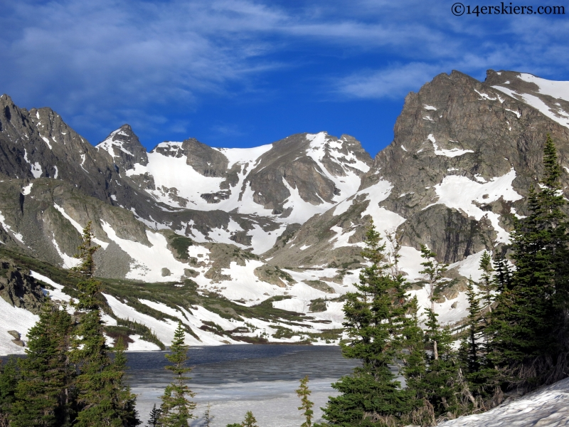 lake isabelle indian peaks wilderess
