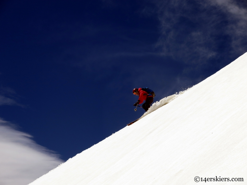 heading to queen's way on apache peak