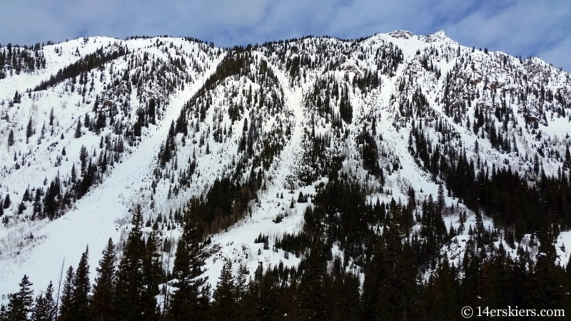 Little Skiers Peak in Gore Range.