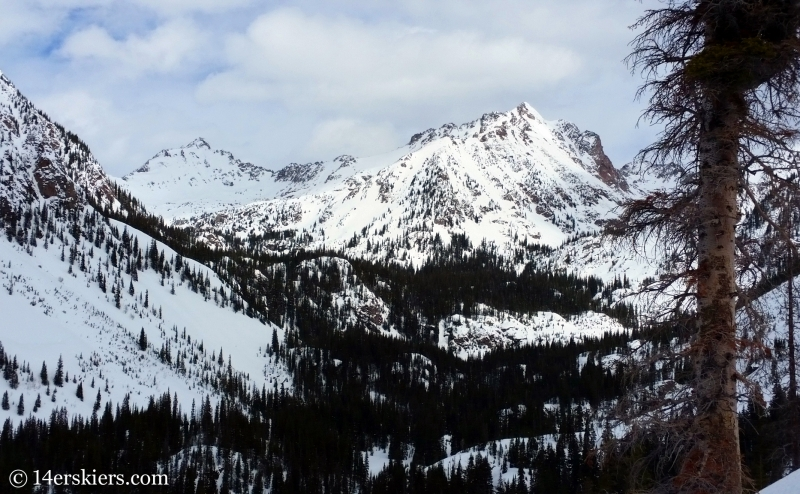 Partner Peaks in the Gore Range.