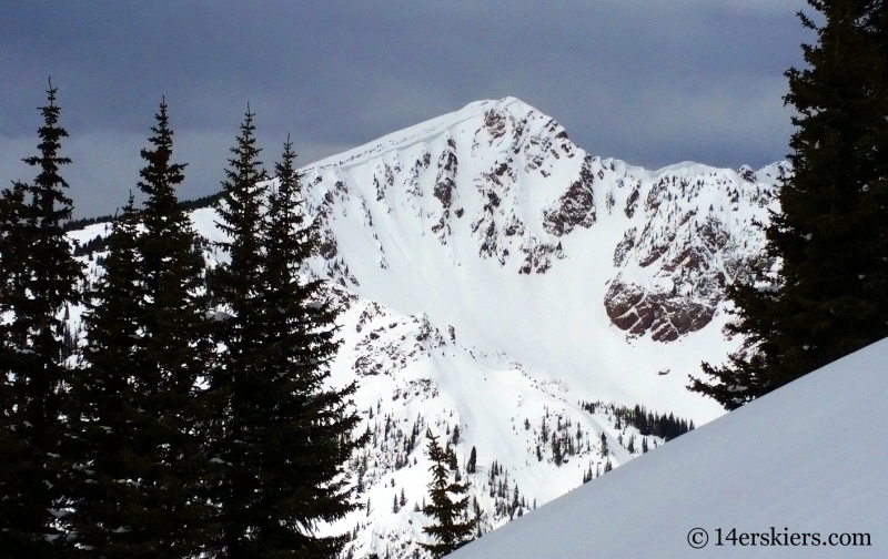 Outpost Peak in the Gore Range.