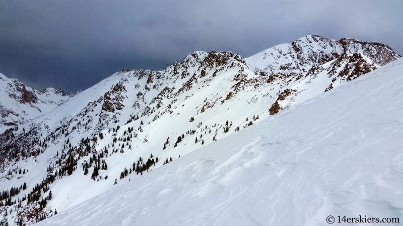 Skier's Point in the Gore Range.