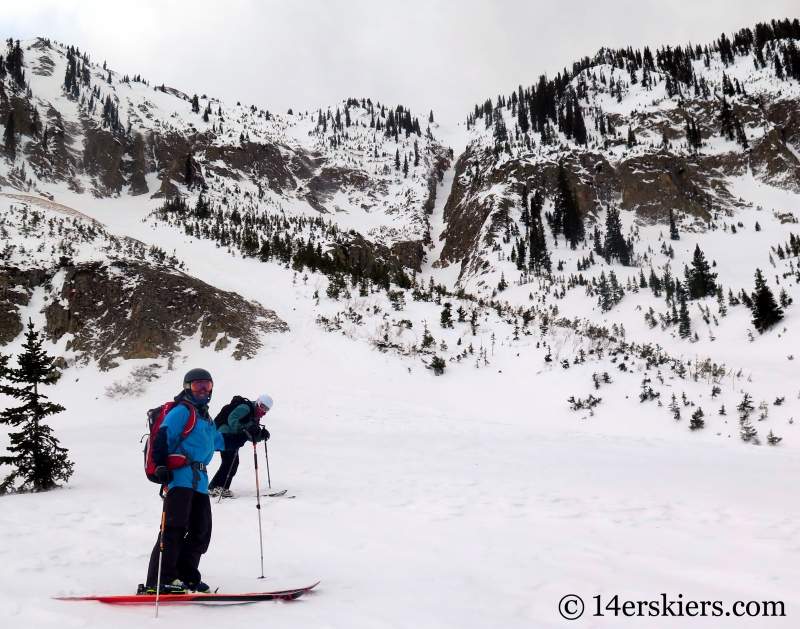 Axtell Pencil, backcountry skiing in Crested Butte