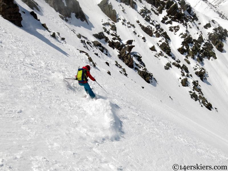 springtime powder skiing in the sangres