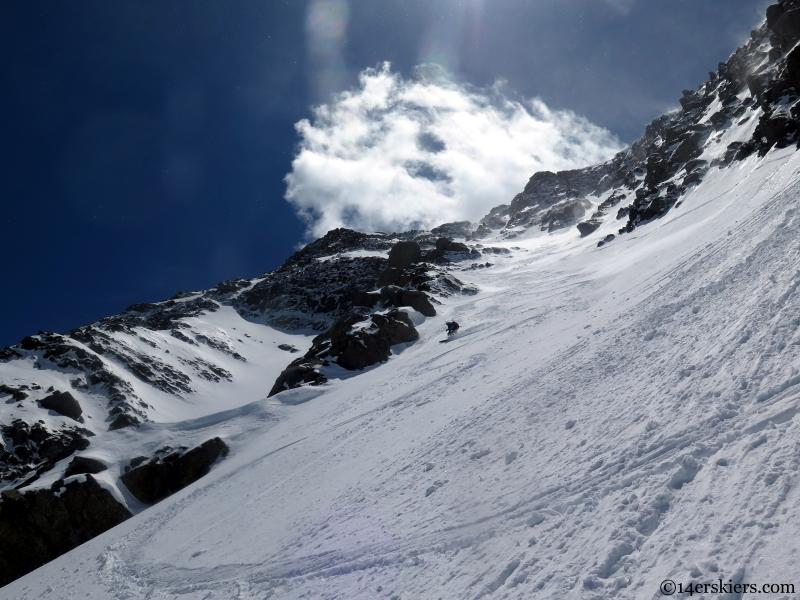 skiing in the sangre de cristos