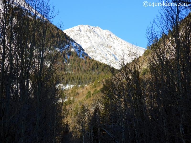 Eureka mountain in morning light