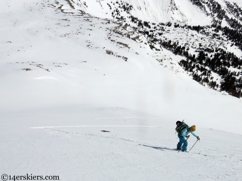 skiing in the sangre de cristos