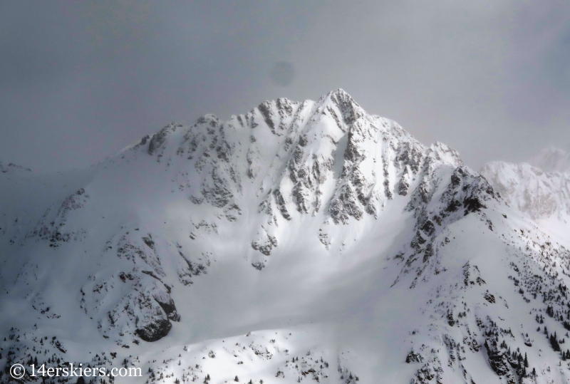 Peak V in the Gore Range.
