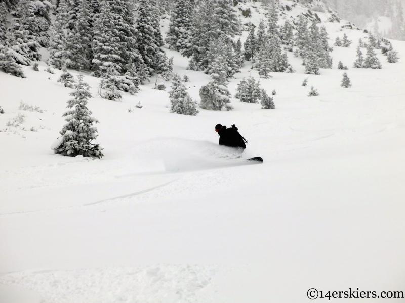 snowboarding park cone