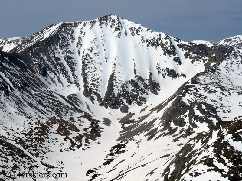 Mount Democrat seen from North Star Mountain.