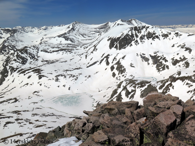 Views from the summit of North Star