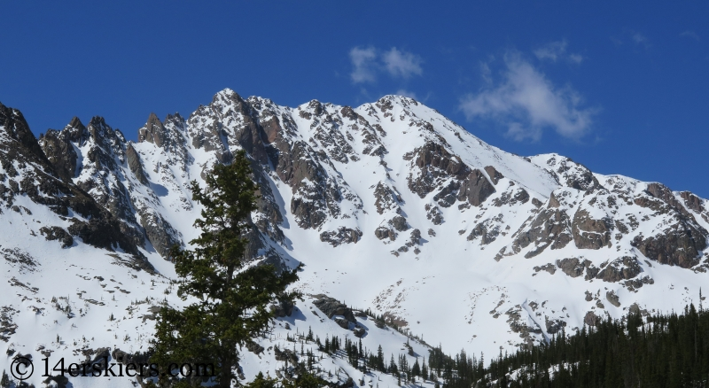 Red Peak in the Gore Range.