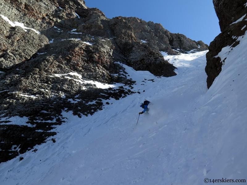 Sheep chute near telluride