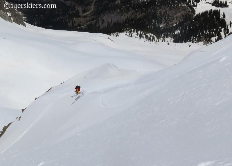 doctor evil couloir aspen backcountry skiing