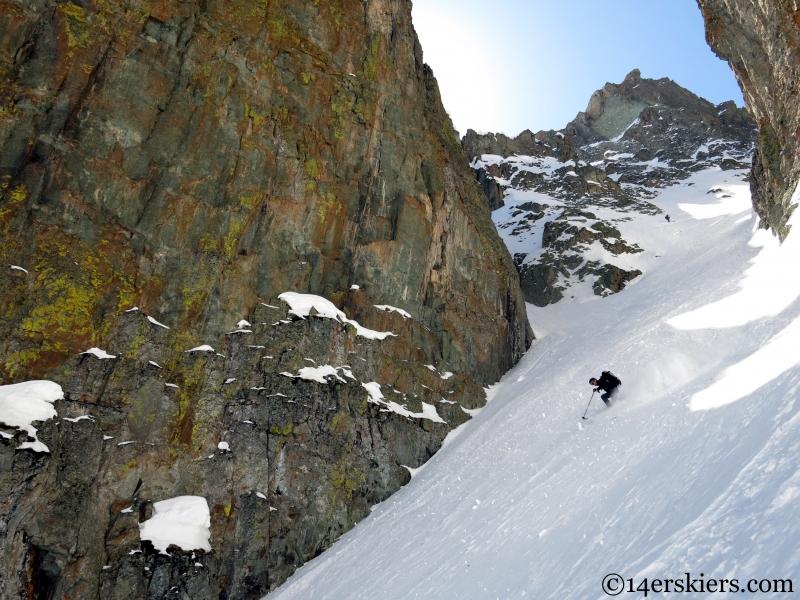 san juan chute skiing