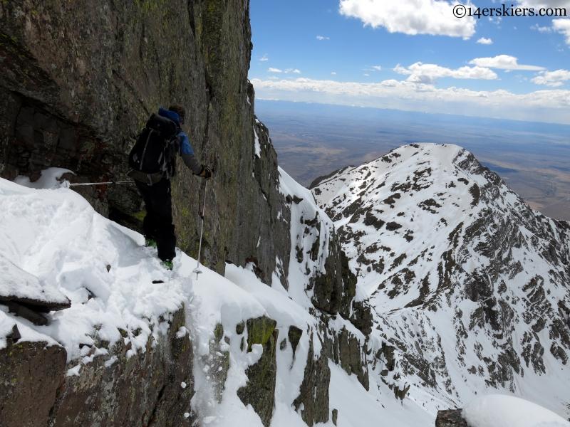 Pete Sowar backcountry skiing