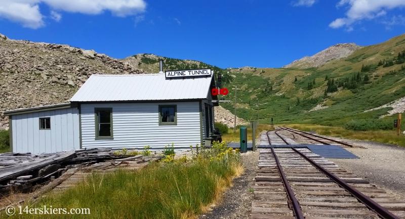 Alpine Tunnel station