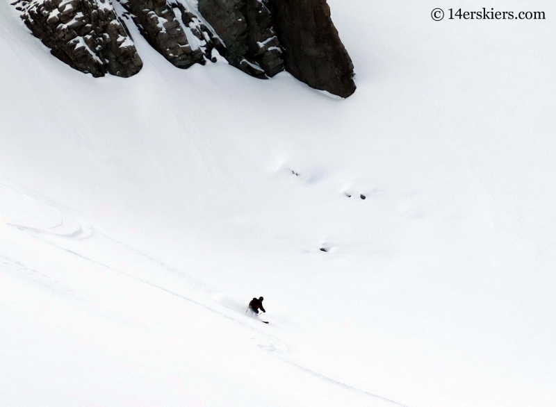 Mark Robbins backcountry skiing in Crested Butte