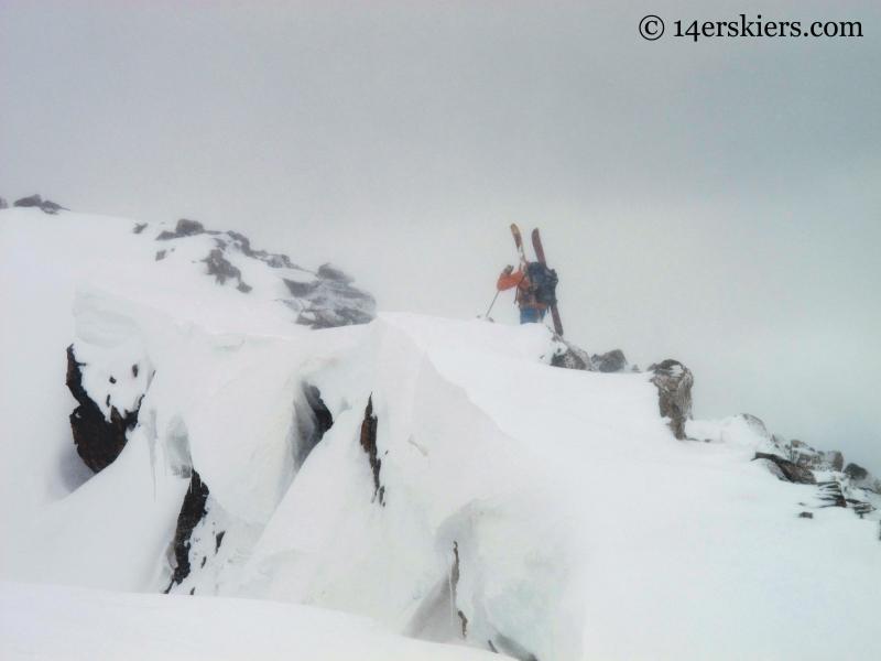 14erskeirs on Mount Arkansas ridge