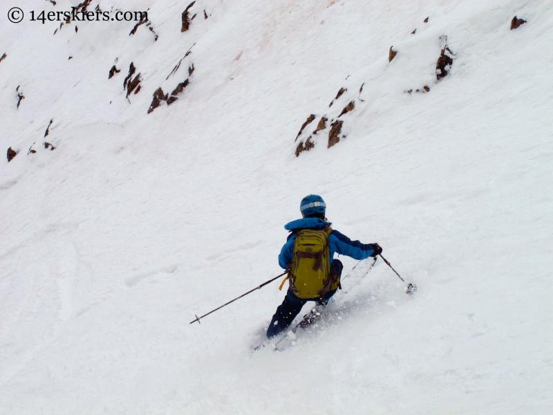 Brittany Konsella skiing Mount Arkansas Mount Arkansas