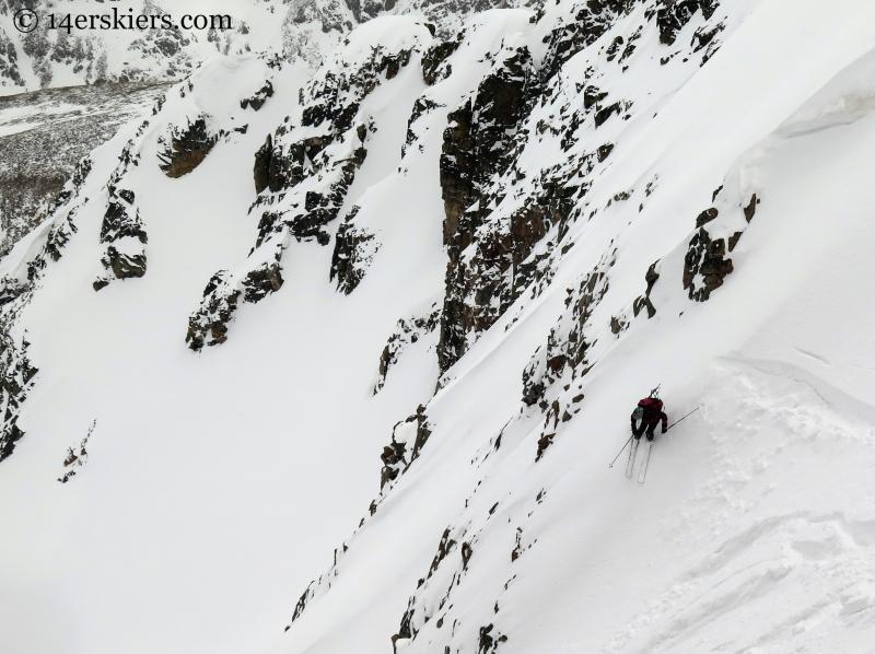 Frank Konsella skiing