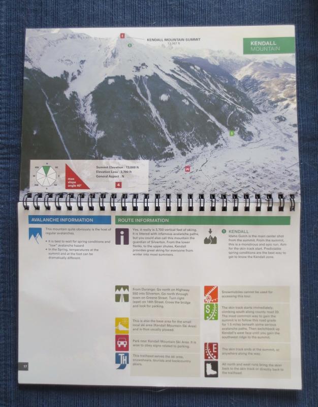 silverton backcountry ski guidebook