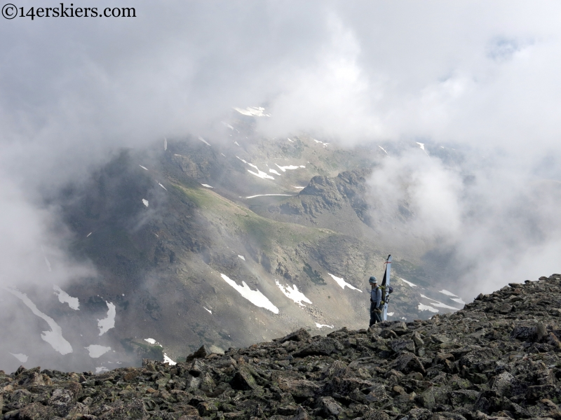Mount Audubon, Crooked Gully  6.26.15