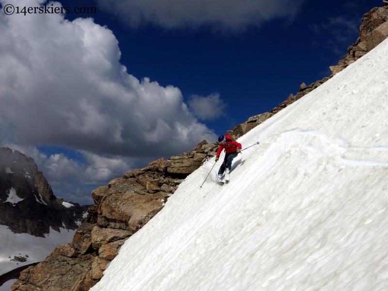 ski crooked gully