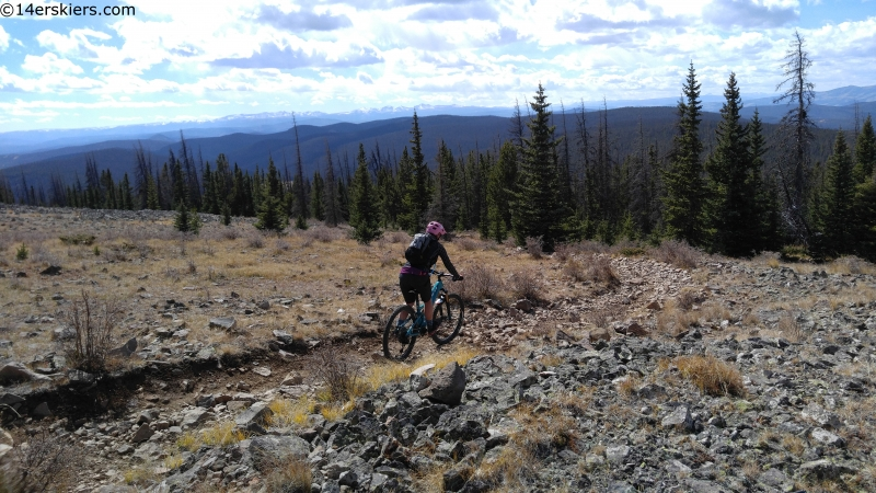 rock garden mountain biking