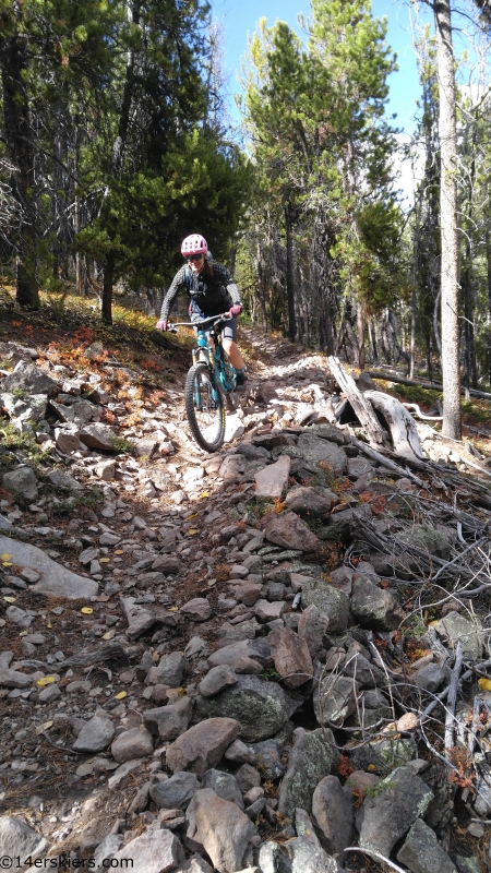 dutchman trail near gunnison mtb