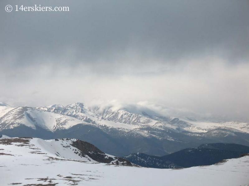 View north from Mt. Bierstadt.