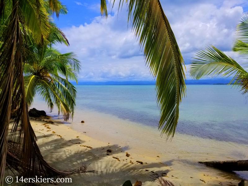 Hike to Playa Estrella, Starfish Beach, in Panama.