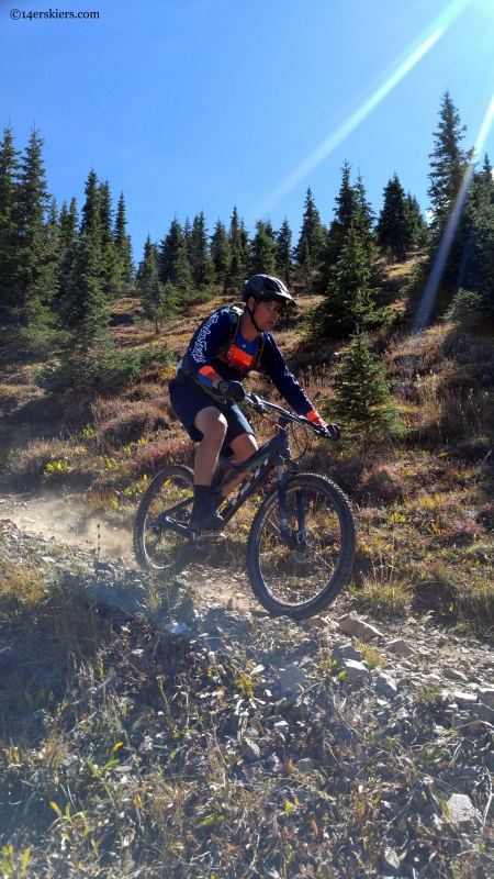 mountain biking fooses creek