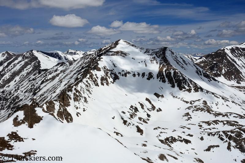 Mount Democrat, Emma Lakes chutes