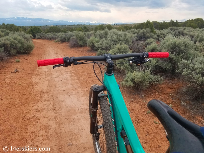 Mountain biking 101- Buzzard Gulch Trails near Montrose, CO.