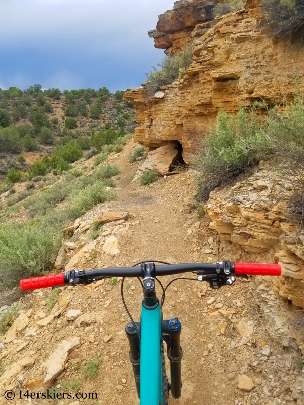 Vulture Rim Trail near Montrose, CO.