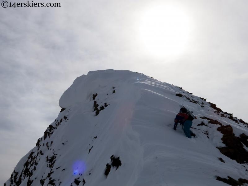 baldy ski mountaineering