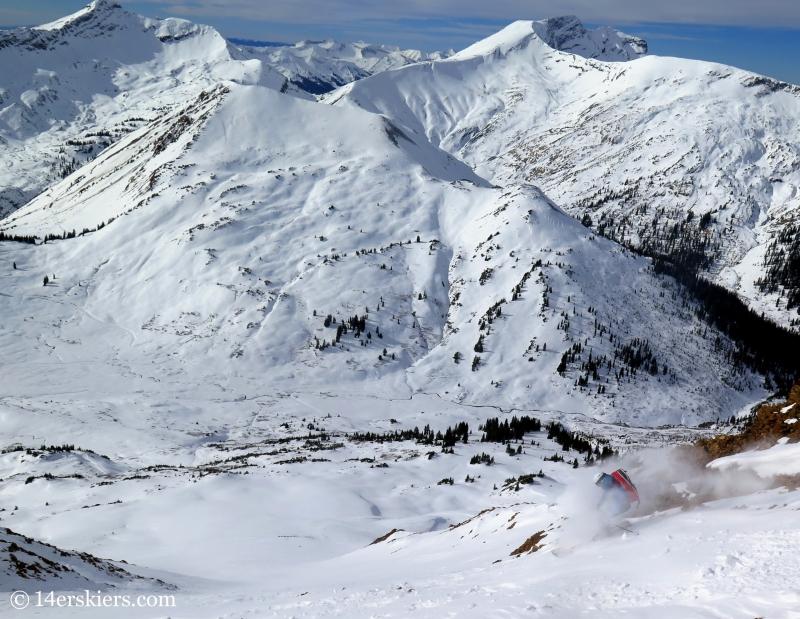 skiing paradise divide