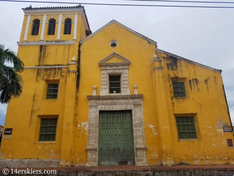 Inglesia de la Santisima Trinidad in Getsemani, Cartagena