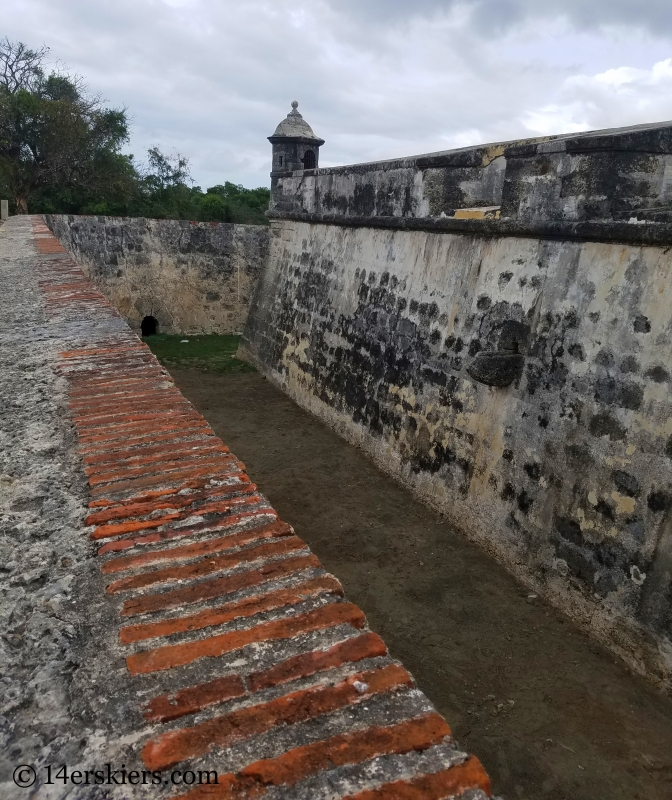 Fuerte de San Luis in Cartagena