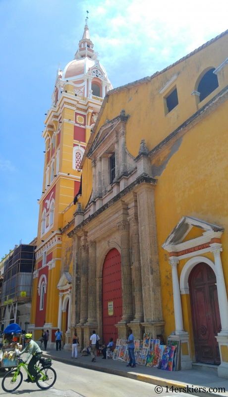Catedral in Old Town Cartagena