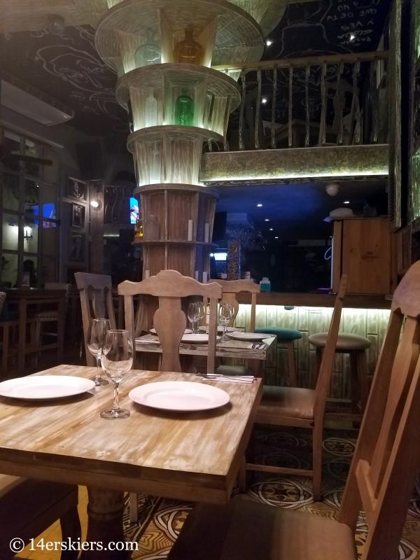 Colorful Cartagena - restaurant