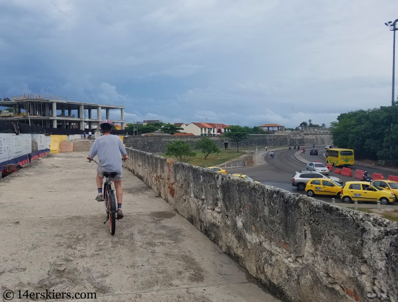 Cartagena City Walls bike tour