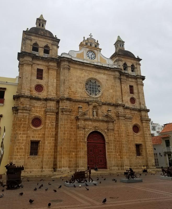 Inglesia de San Pedro Claver in Cartagena
