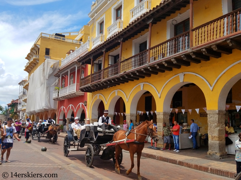 Colorful Cartagena.