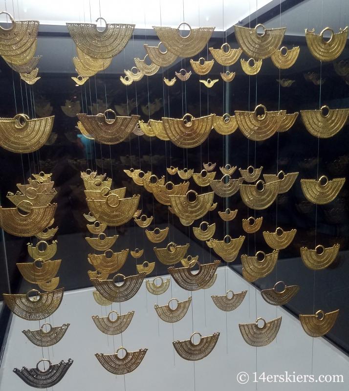 Gold Museum in Cartagena.