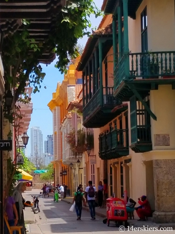 Colorful Cartagena - Old Town.
